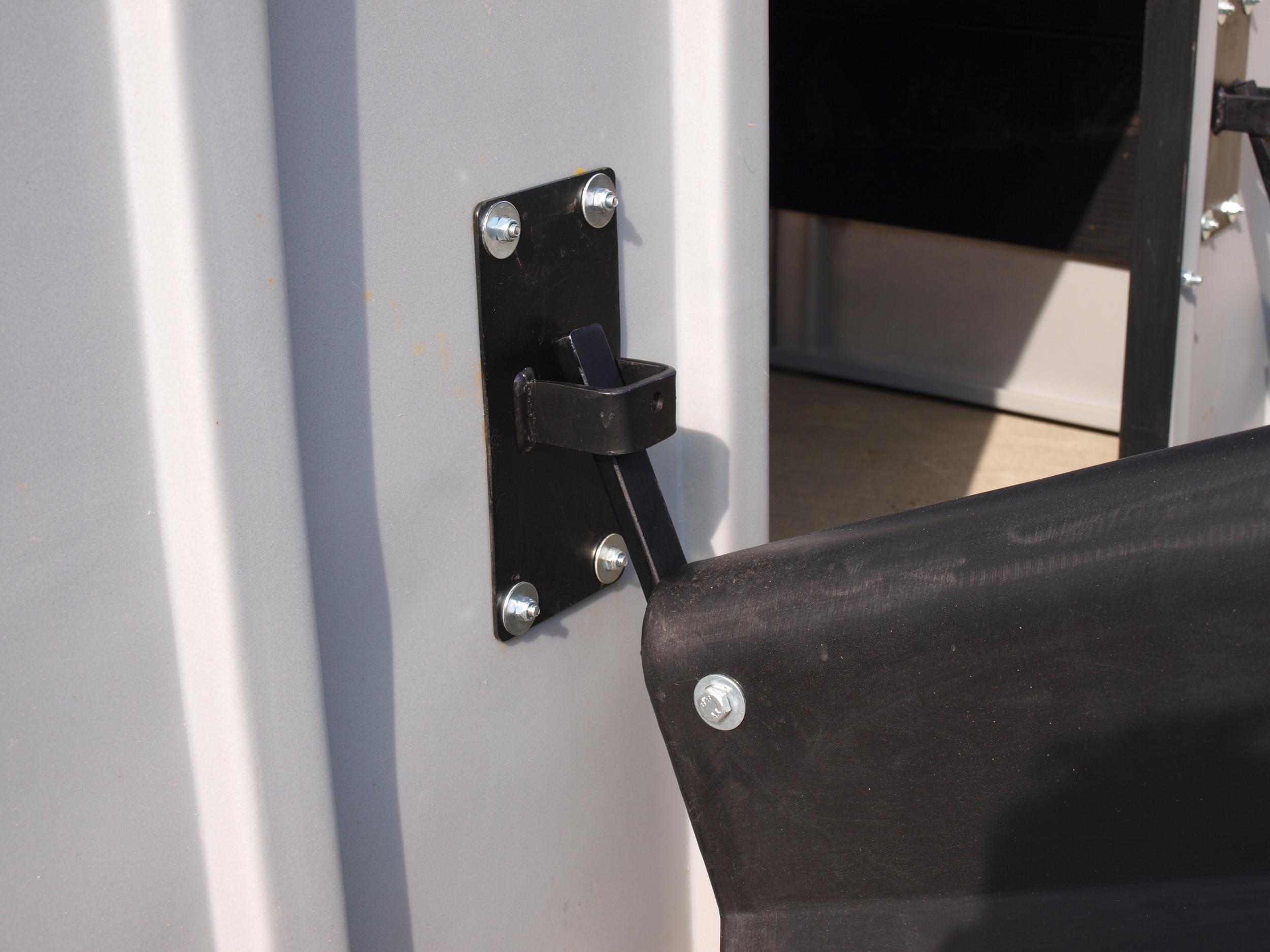 Easyfit fender hook system