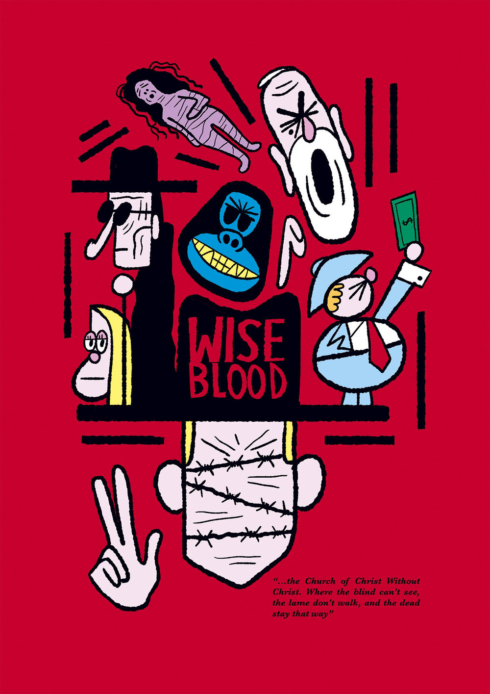 WISE BLOOD - Exposición Artists on Films de Piñata Productions