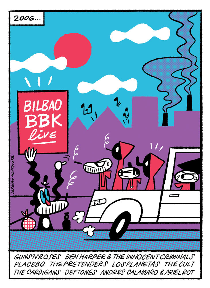 BILBAO BBK LIVE - Exposición del X Aniversario del festival.