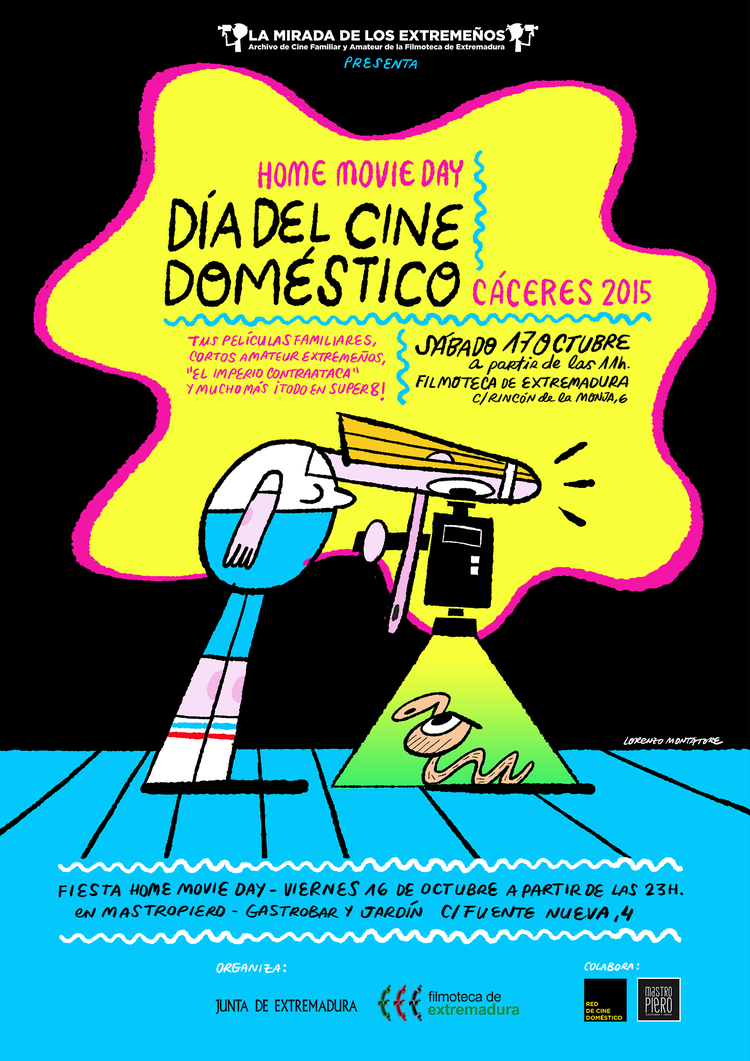 HOME MOVIE DAY - Día del Cine Doméstico de Cáceres
