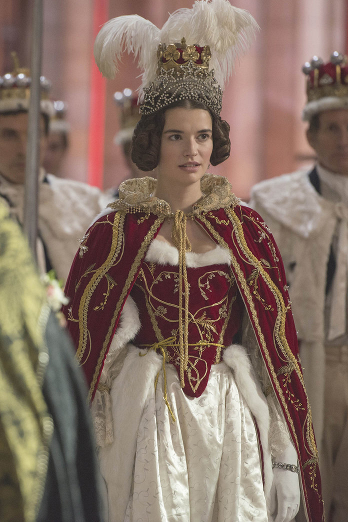 Margaret playing Harriet, Duchess of Sutherland in ITV's  Victoria
