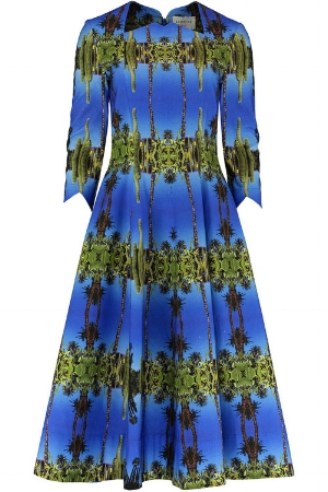The  Majorelle  dress, from our  Eponine x Pam Weinstock  collection
