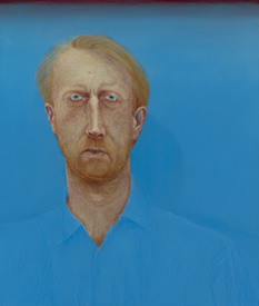 Gauthier Hubert's  Portrait of Jean Yves, a man looking like Vincent Van Gogh  from the 2014 exhibition