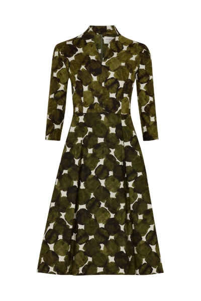 AW18 - Ready to Wear - Olive Fruit Dot Dress 1.jpg