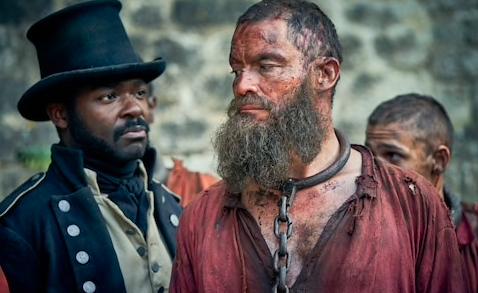 David Oyelowo as Inspector Javert and Dominic West as Jean Valjean