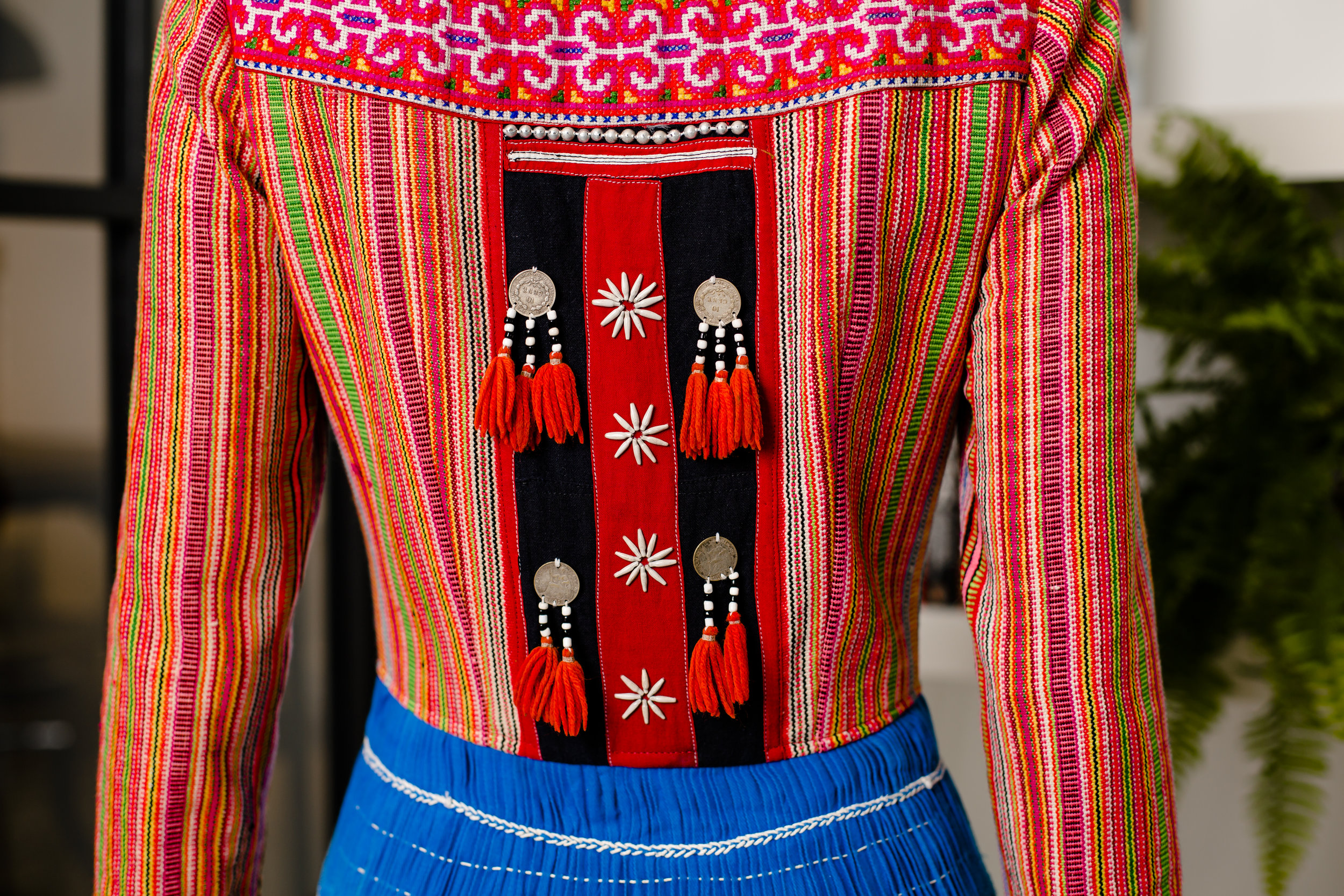 AW17: A Hmong Dress with a Clashing Bodice & Skirt