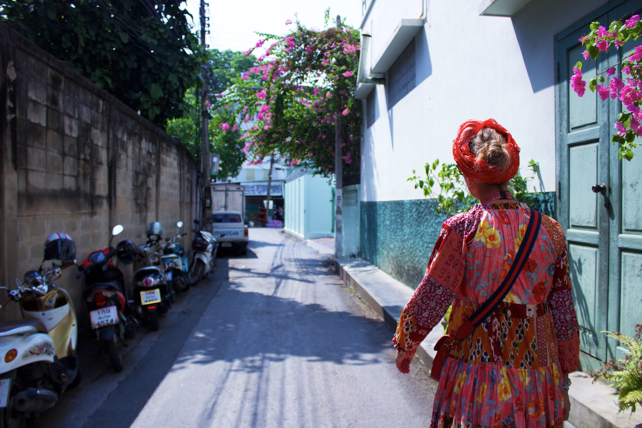 Getting lost in the streets of Chiang Mai