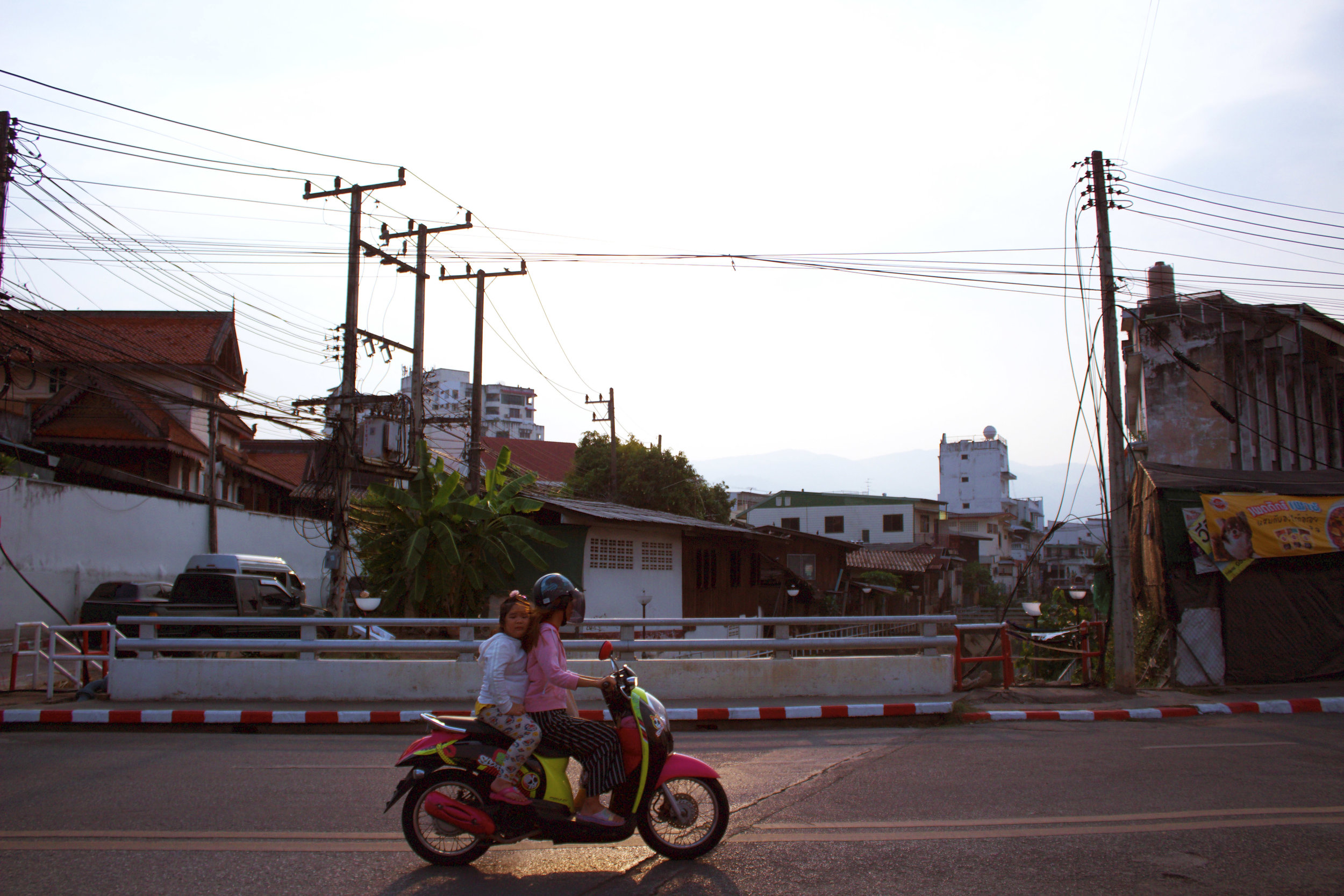 Late afternoon in Chiang Mai