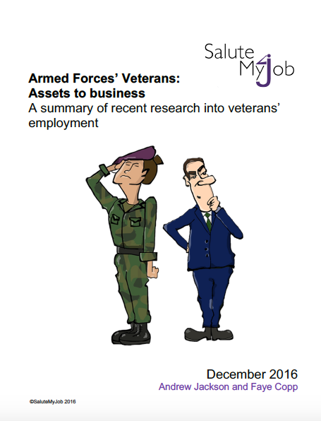 Armed Forces' Veterans: Assets to business