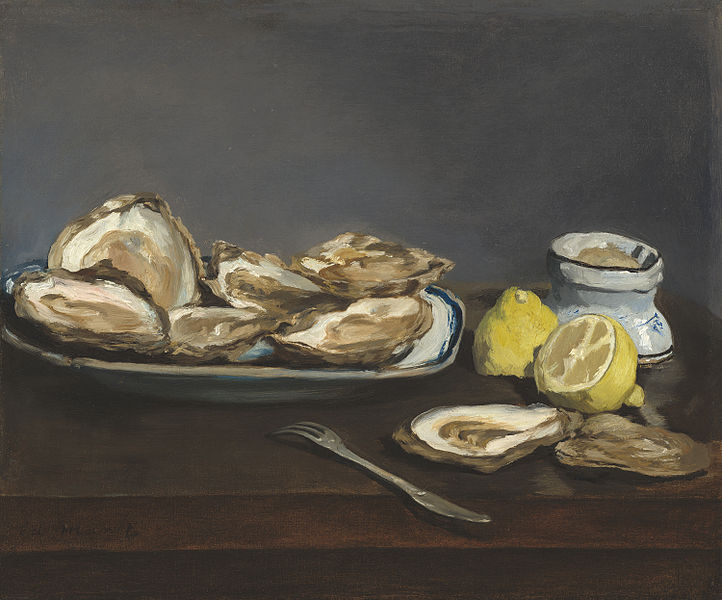 Édouard Manet  -   Oysters, via commons.wikimedia.org