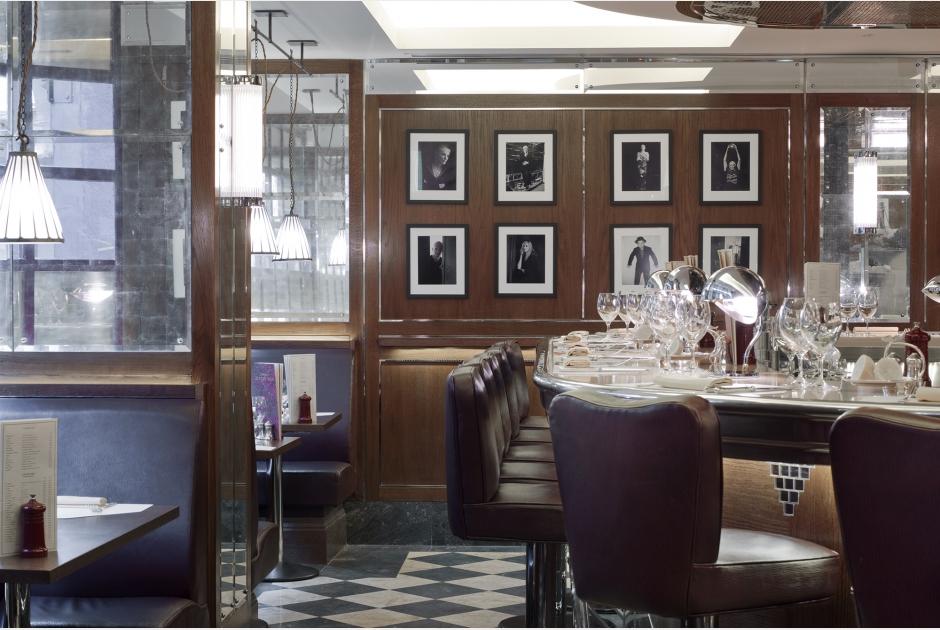J. Sheekey Oyster Bar via  Martin Brudnizki Design Studio .