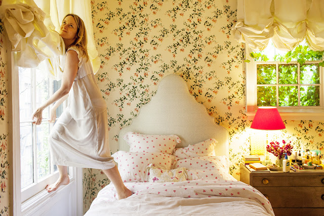 Rita Konig's NYC bedroom via  The Selby
