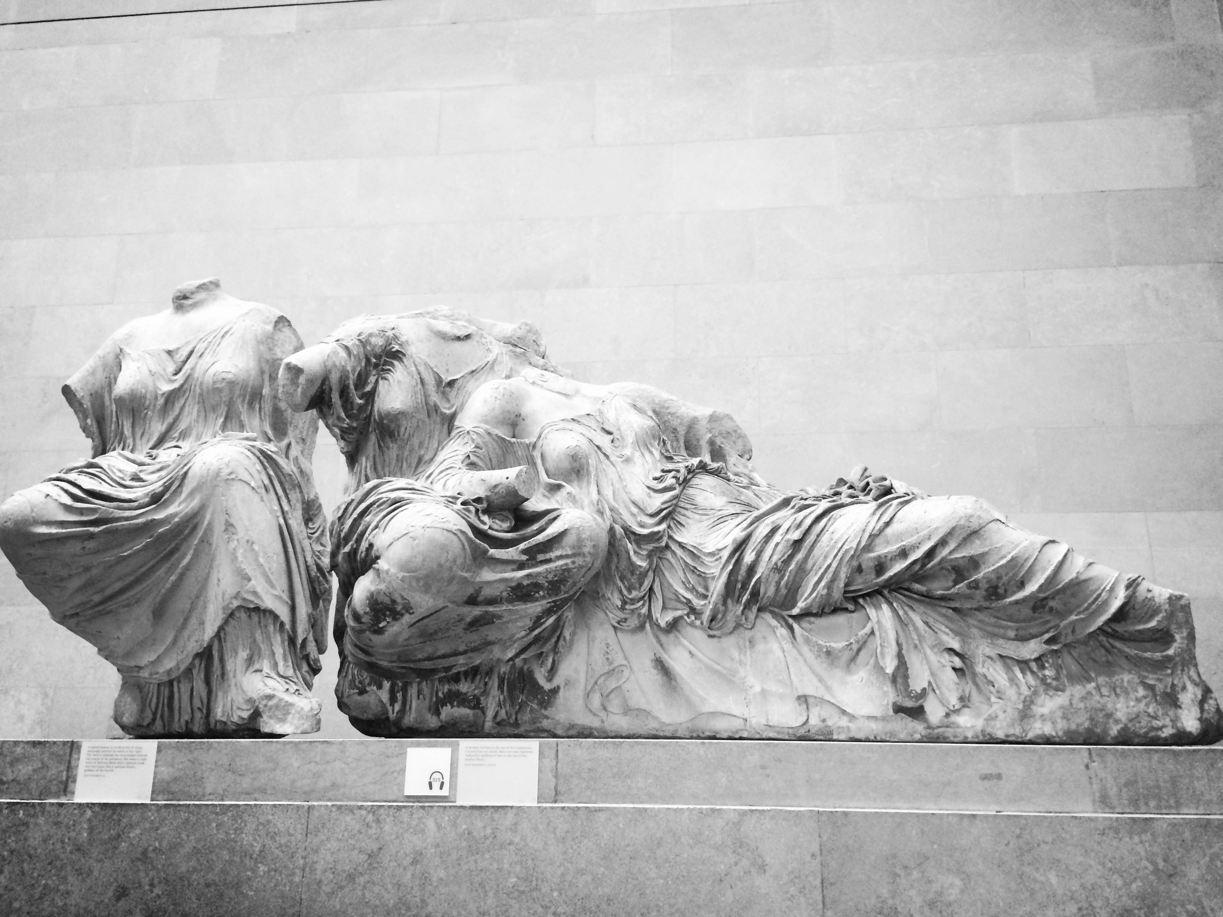 Hanging out with the Elgin Marbles