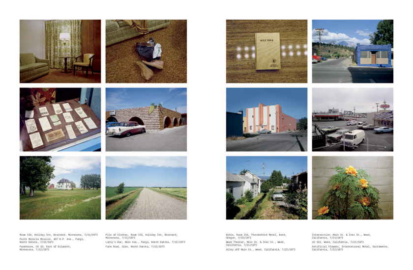 From Stephen Shore's  Road Trip Journal , via  Phaidon