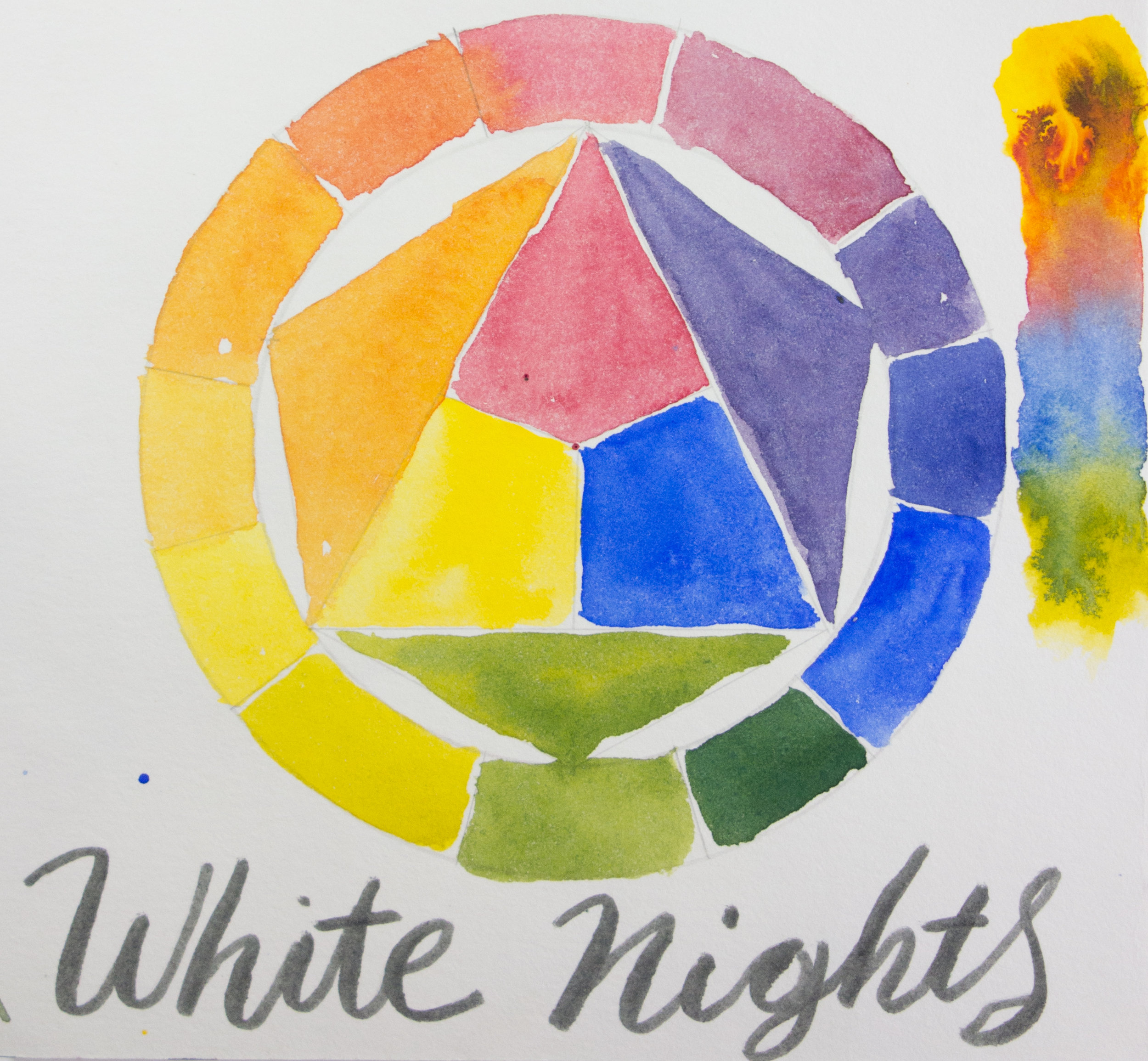 White Nights St. Petersburg Color Wheel