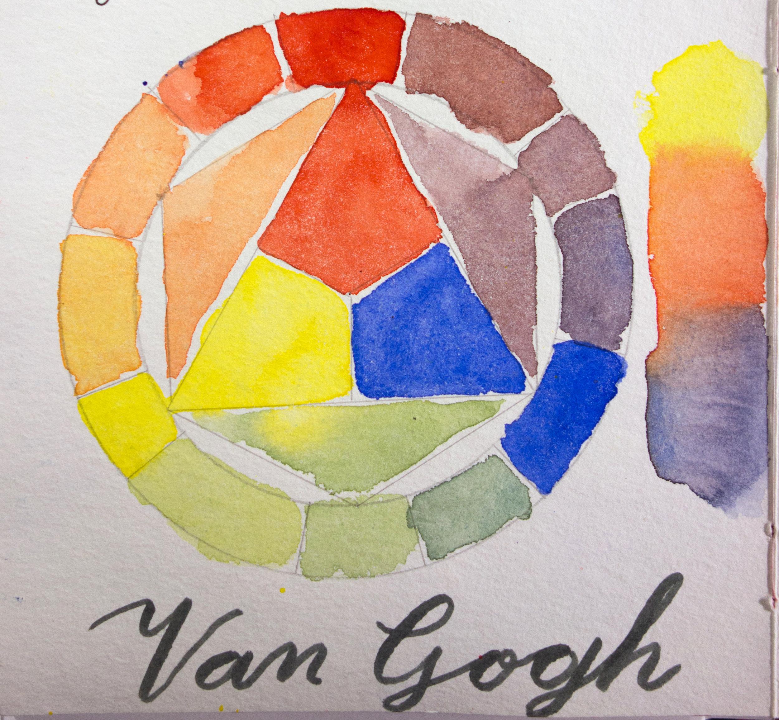 Van Gogh Color Wheel