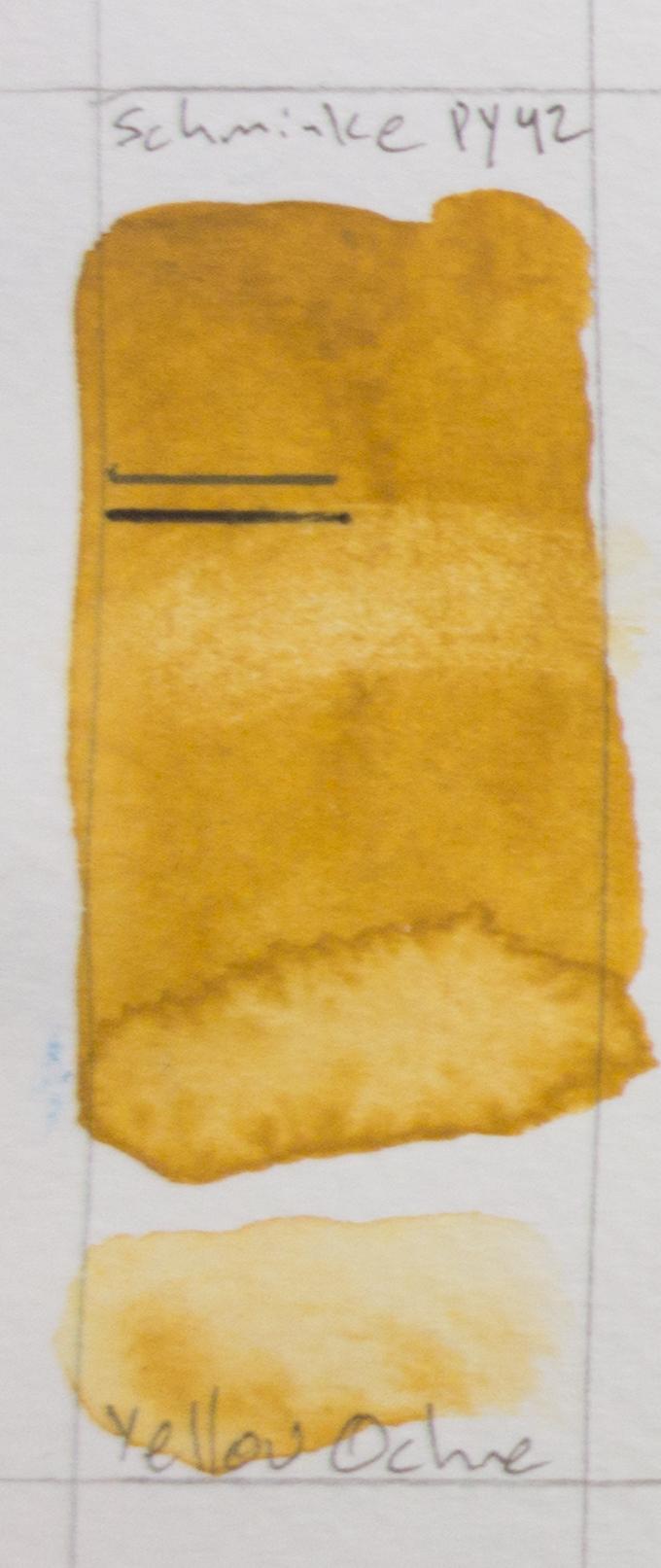 Schmincke Horadam - Yellow Ochre PY42