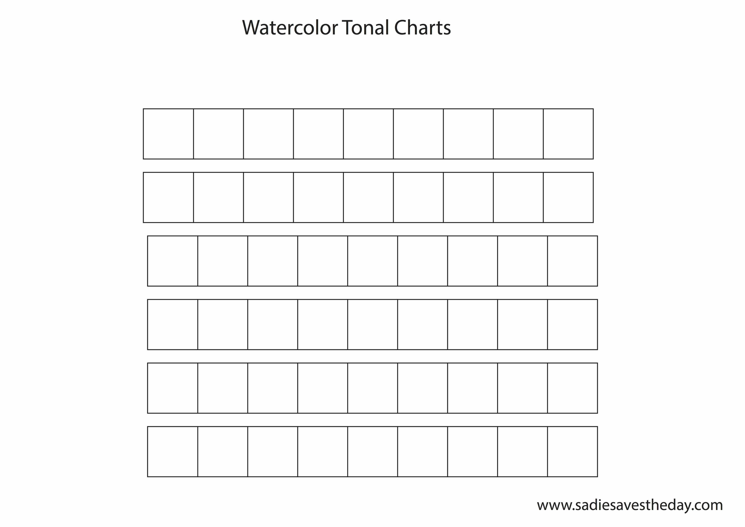 Tonal Chart
