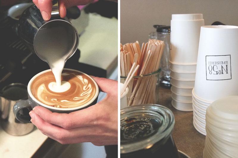 Kaffee und Stempel