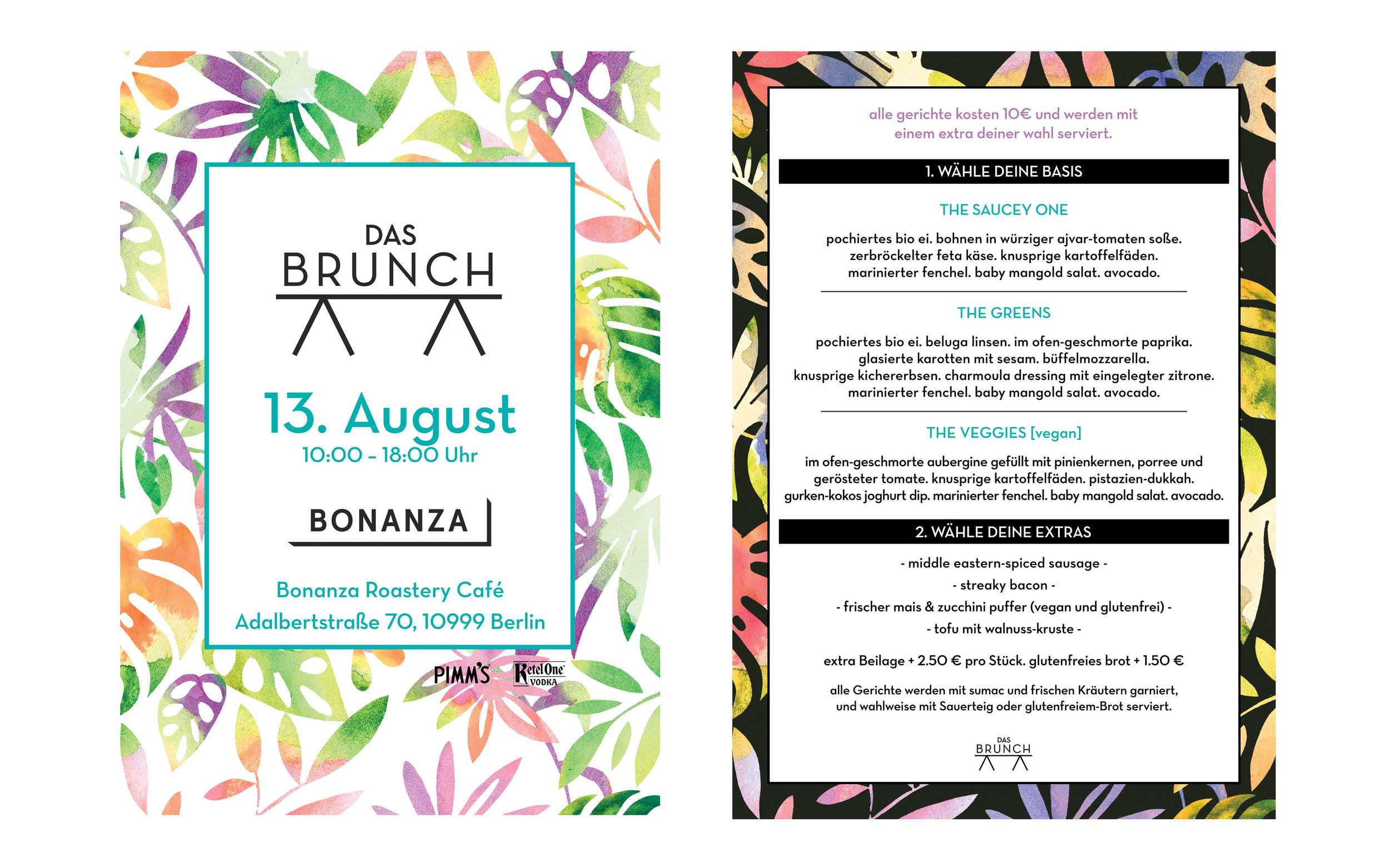 Das Brunch Poster