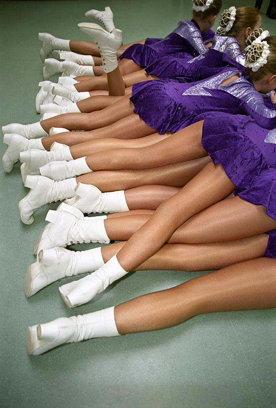 Volkskrantmagazine, beeldreportage over dansmariekes