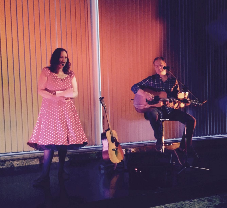 Her er et bilde fra første forestillingen i Folkets Hus i Stavanger.