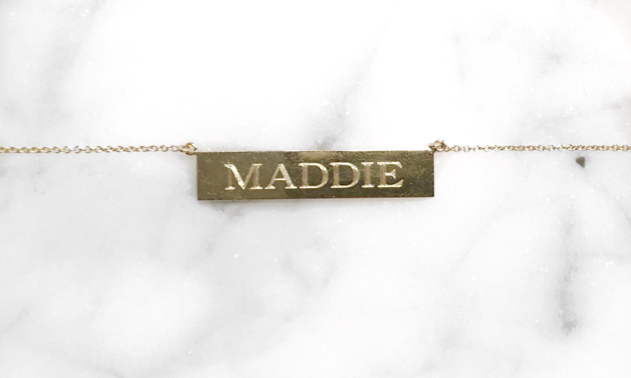 Jennifer Meyer Gold Plated Necklace