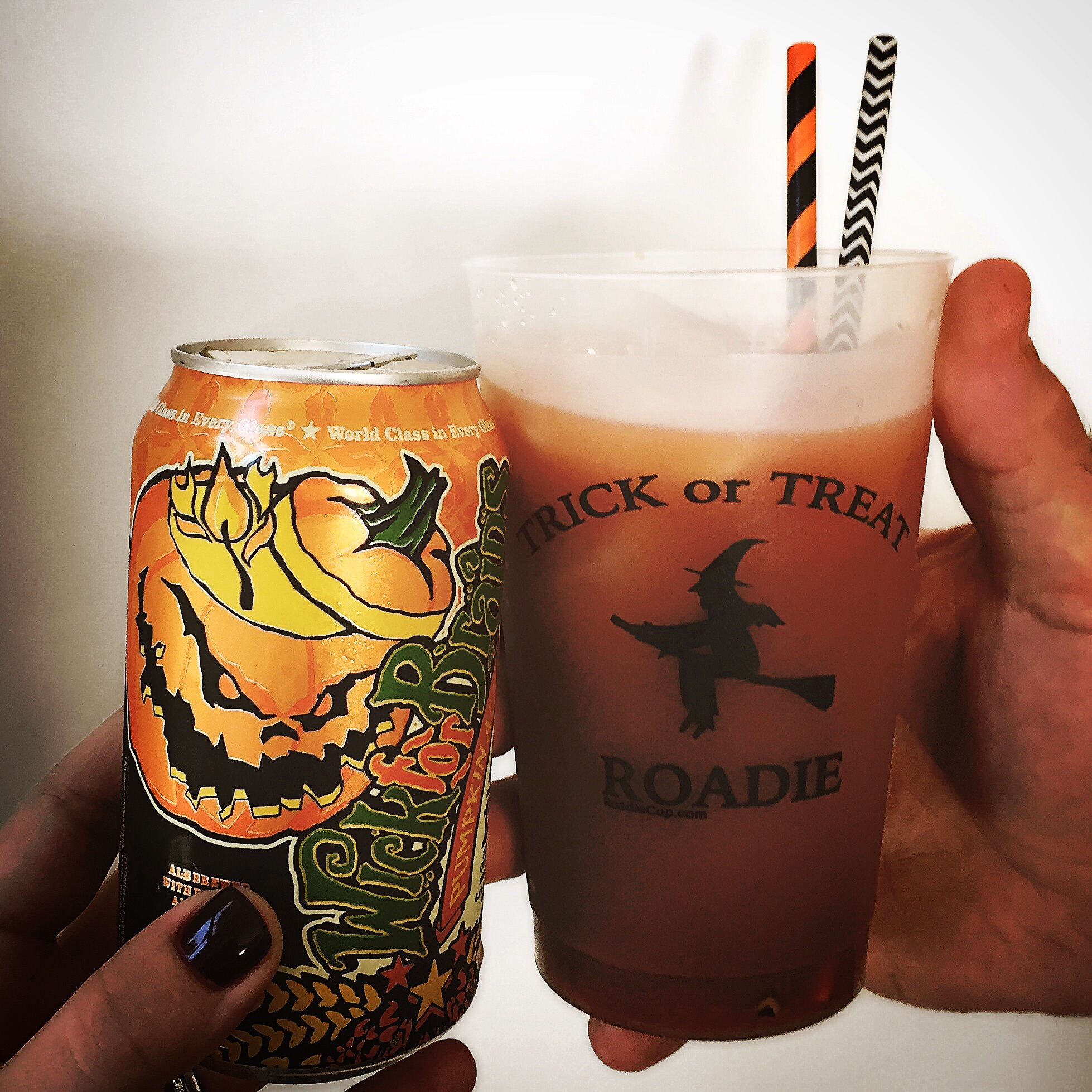 Nebraska Brewing Co Wick for Brains is the perfect seasonal beer with just the right amount of pumpkin.