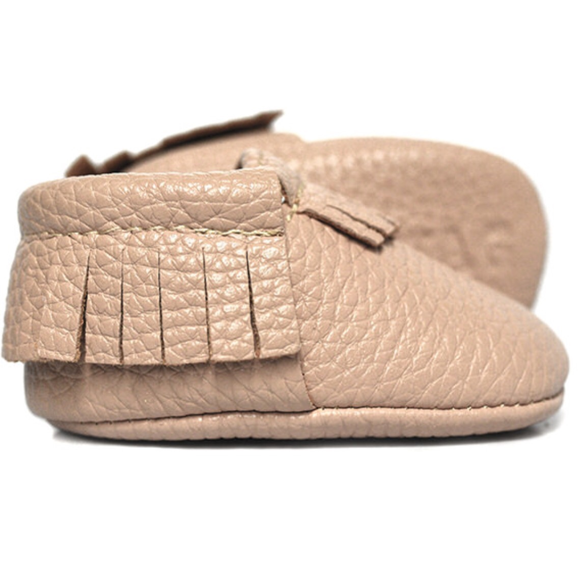 {The sweetest  pair of baby moccs  I recently ordered for MM}
