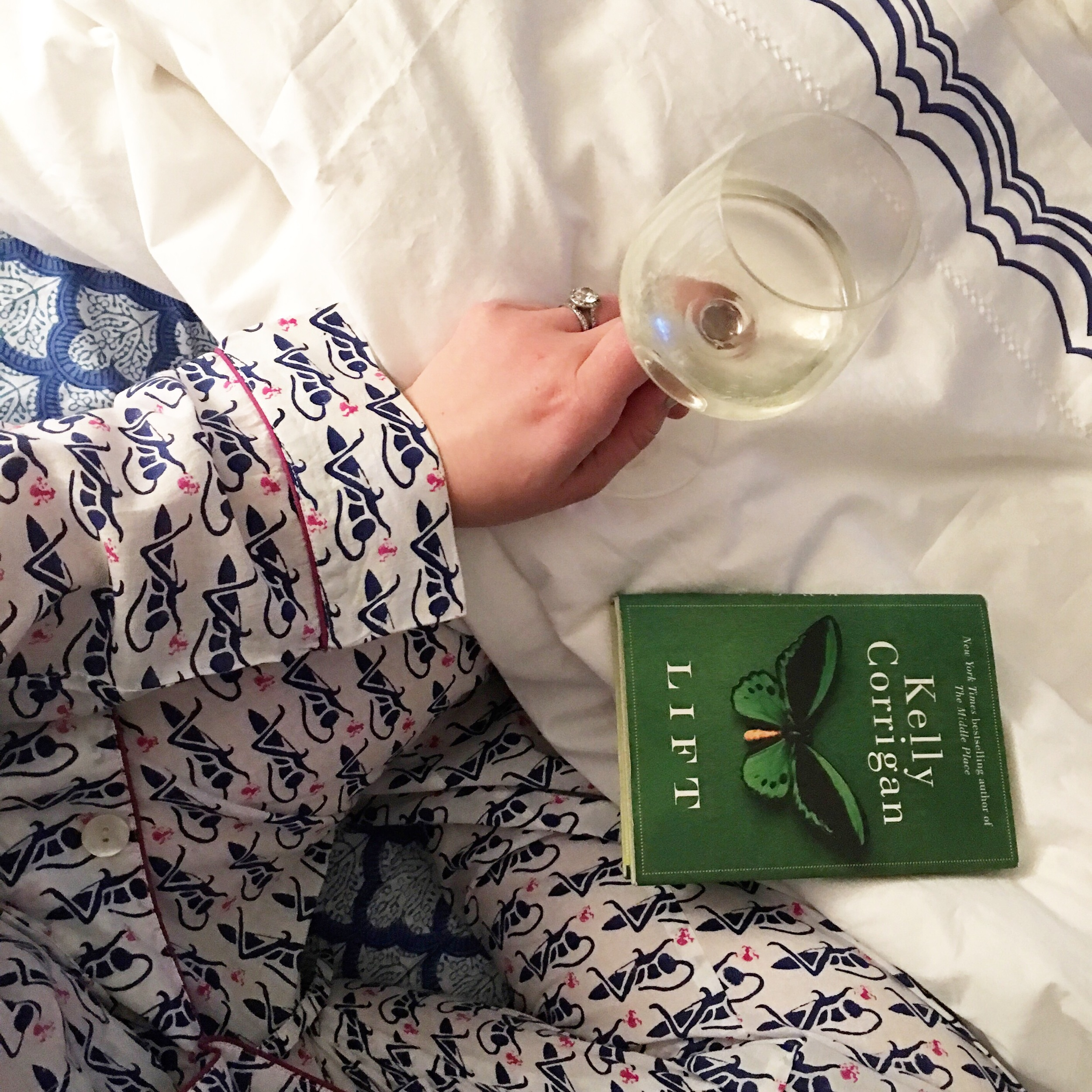 My comfy new Roberta Roller Rabbit PJs + sheets