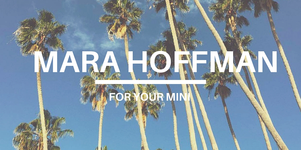 MARA HOFFMAN FOR KIDS 2016