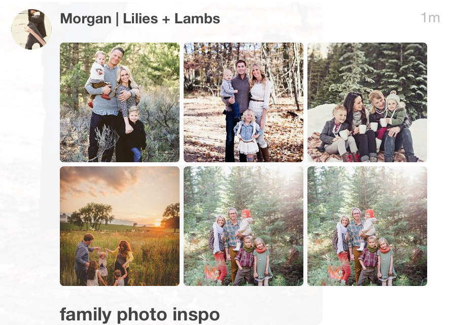 Holiday Family Photo Inspo