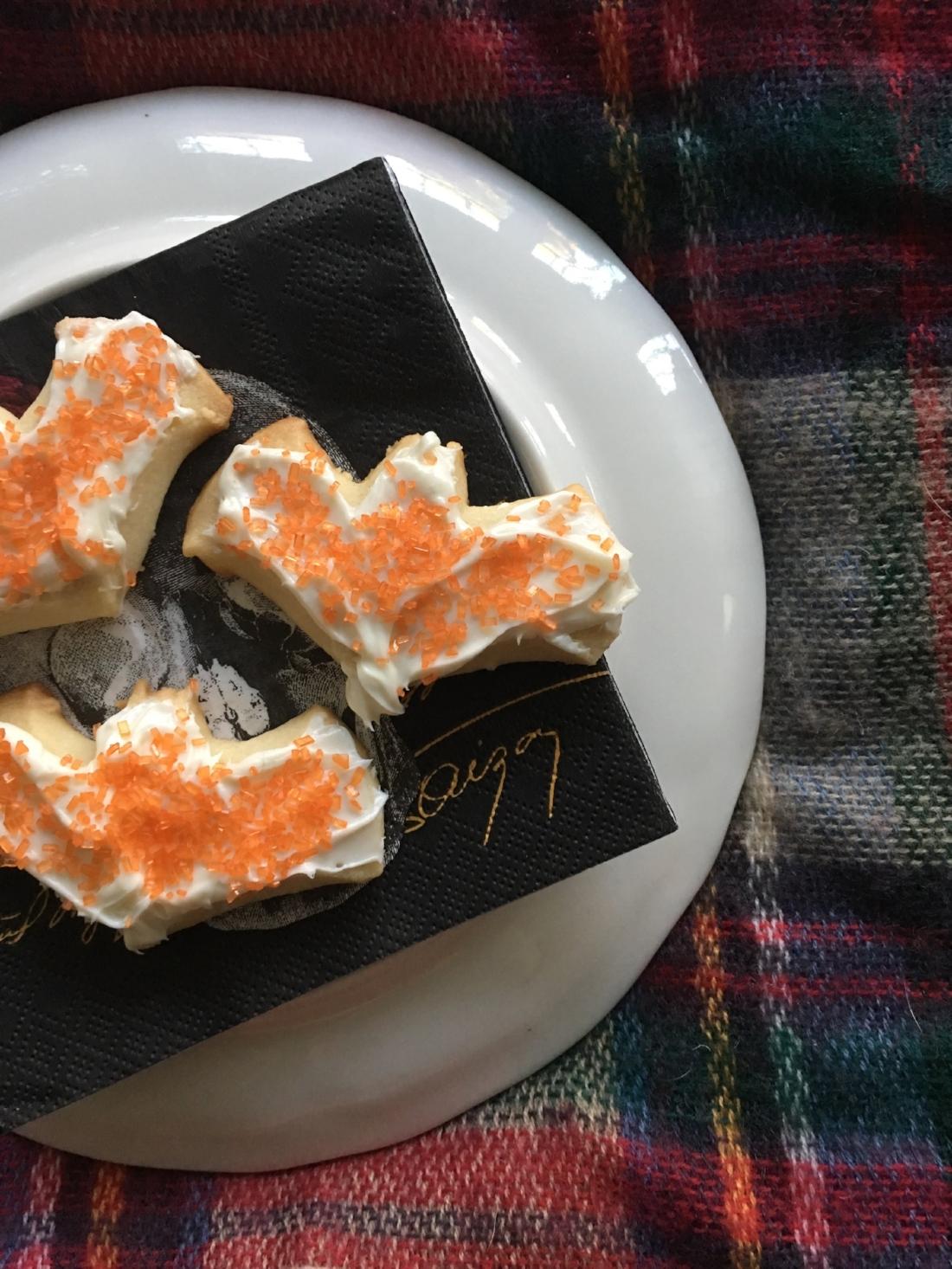 Pillsbury Bat Shape Sugar Cutout Cookies