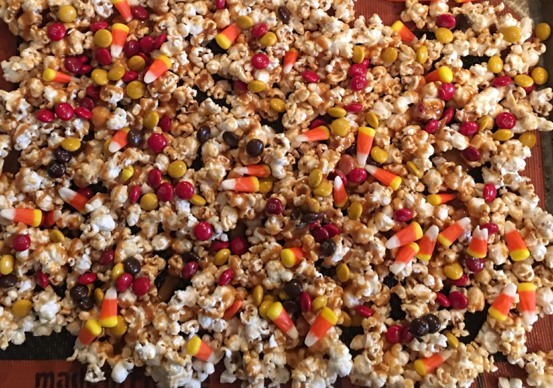 Homemade Candy Corn Fall
