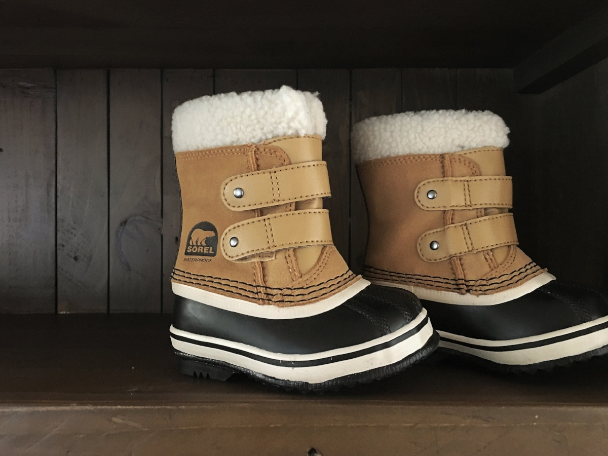 {Baby Sorel Snow Boots found  here }