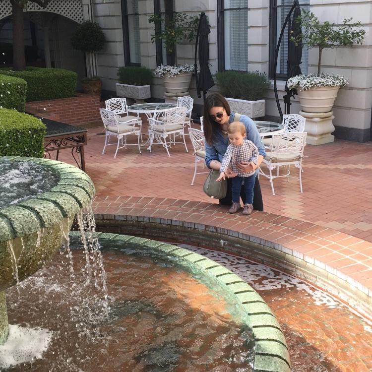 San Francisco Lilies and Lambs Ritz Carlton