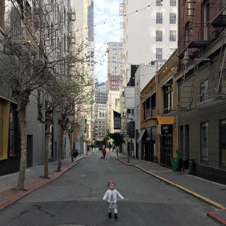 { Maiden Lane, San Francisco }