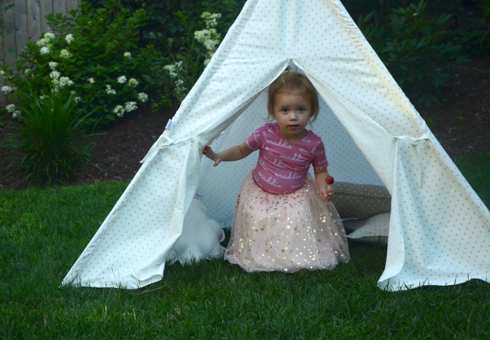 Tutus and Teepees Lilies and Lambs Leotudes Teepee Joy