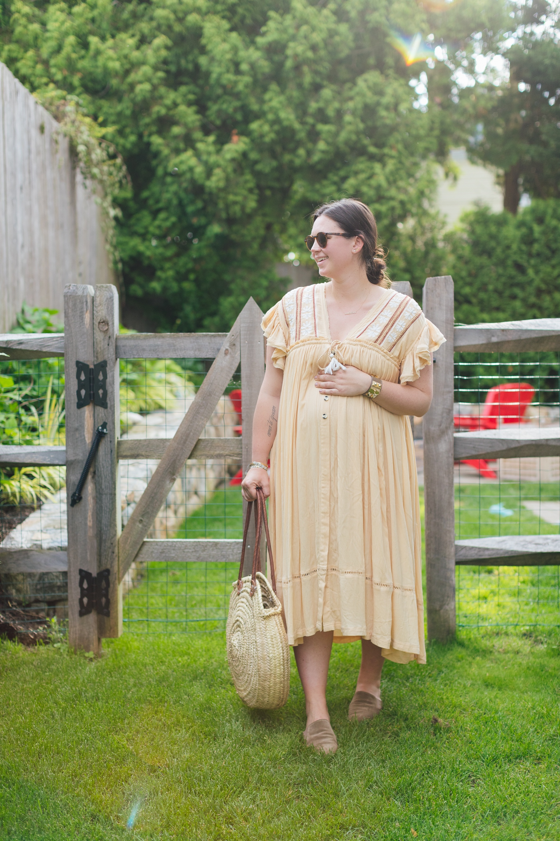 Lilies and Lambs Non Maternity Dress for Bump 1.JPG