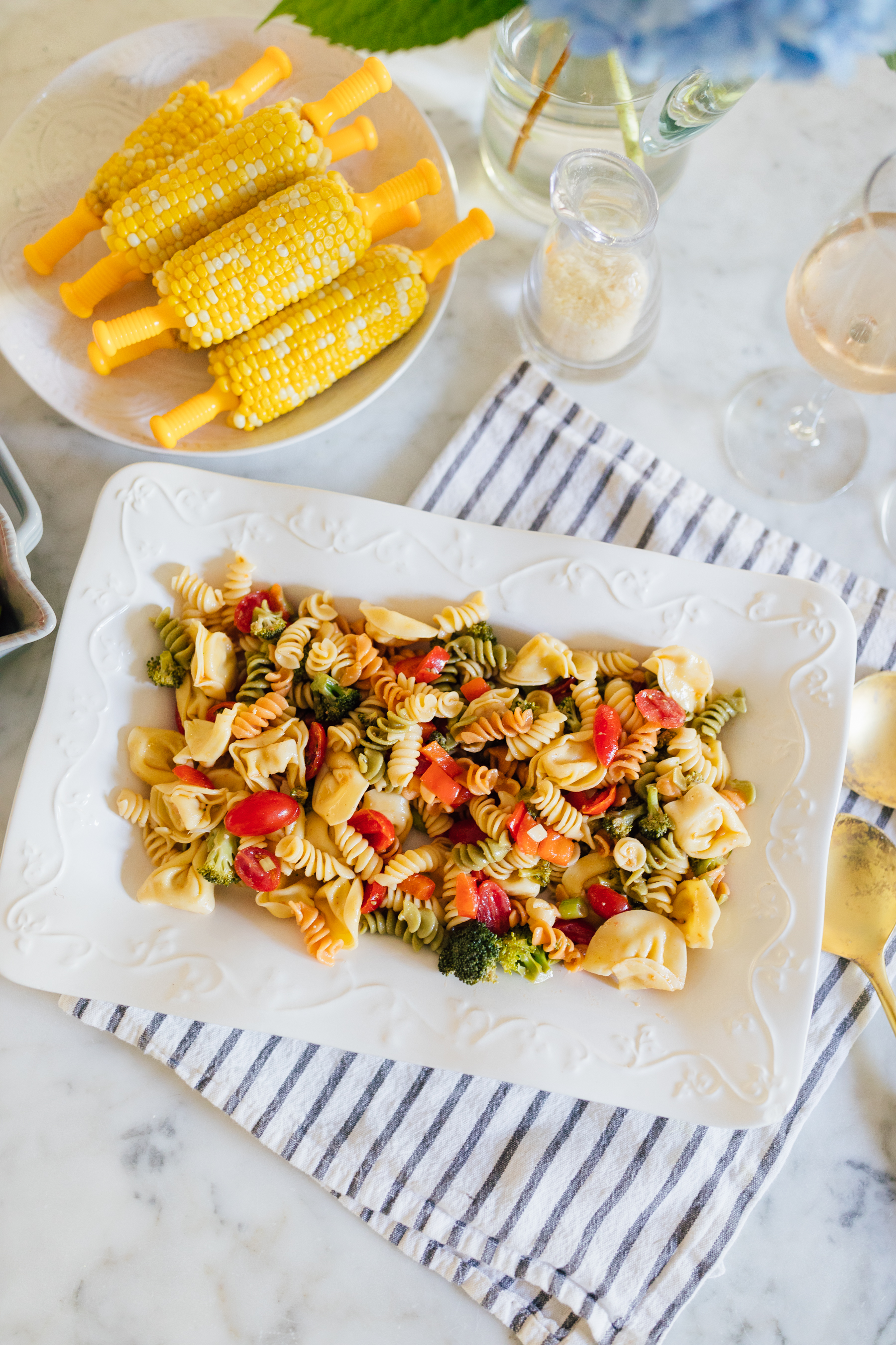 Lilies and Lambs Crowd Pleasing Pasta Salad