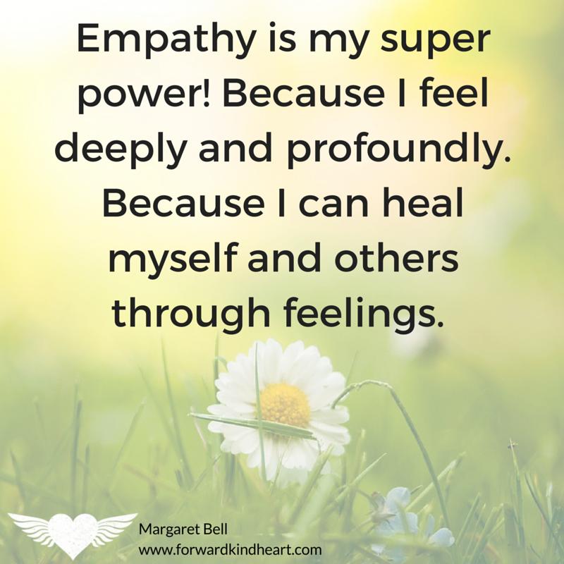 Empathy is my super power
