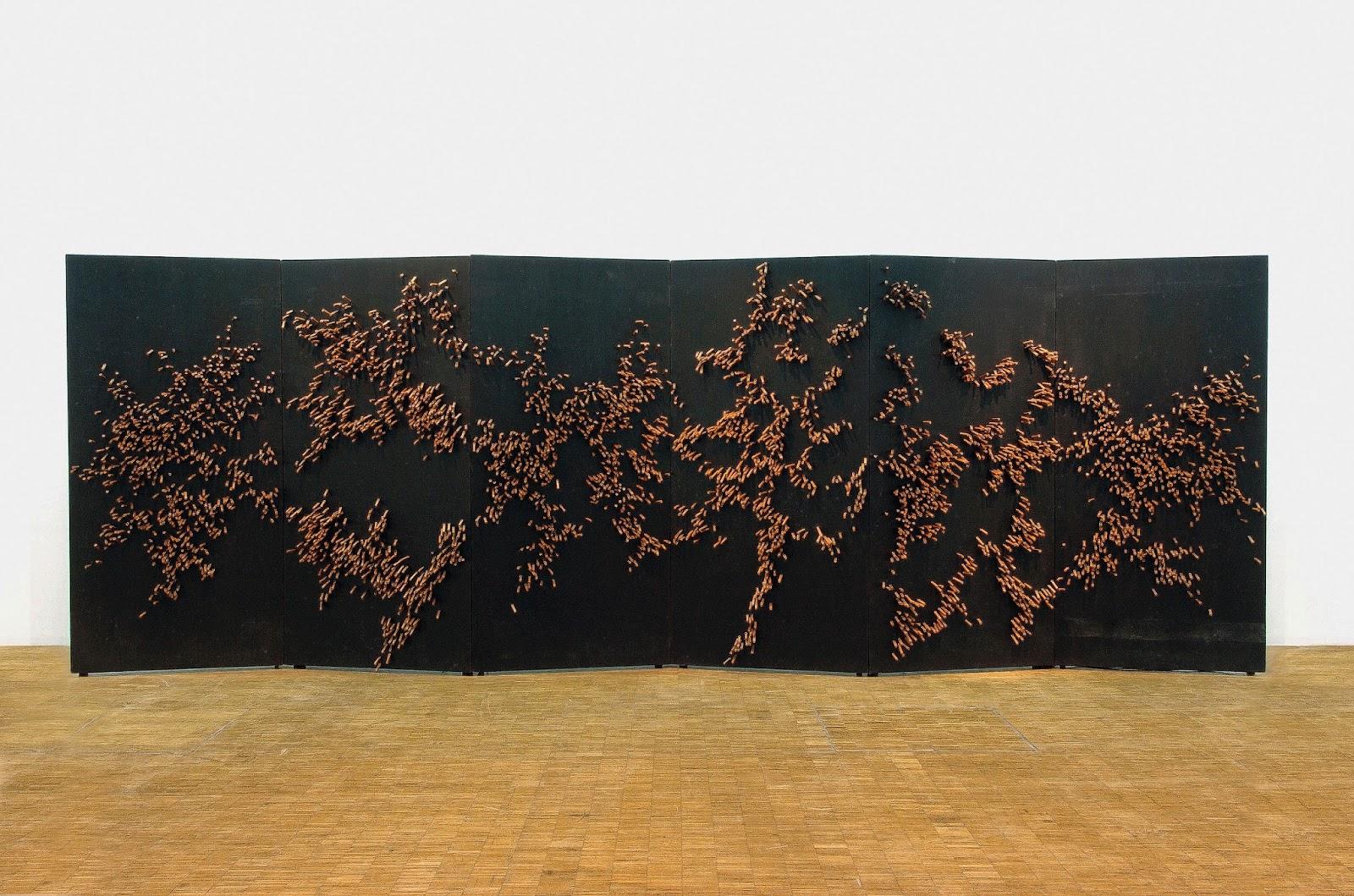 4,087 Erectile Cylinders , 1972( © Centre Pompidou, MNAM/CCI,Paris)