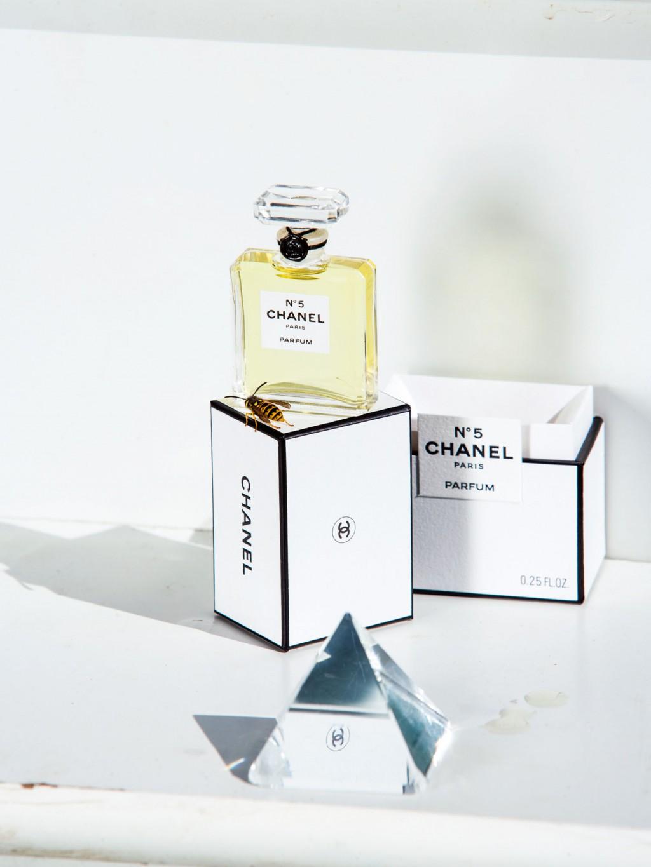 "Roe Ethridge, ""Chanel No.5 with Yellow Jacket"", 2009-2013"