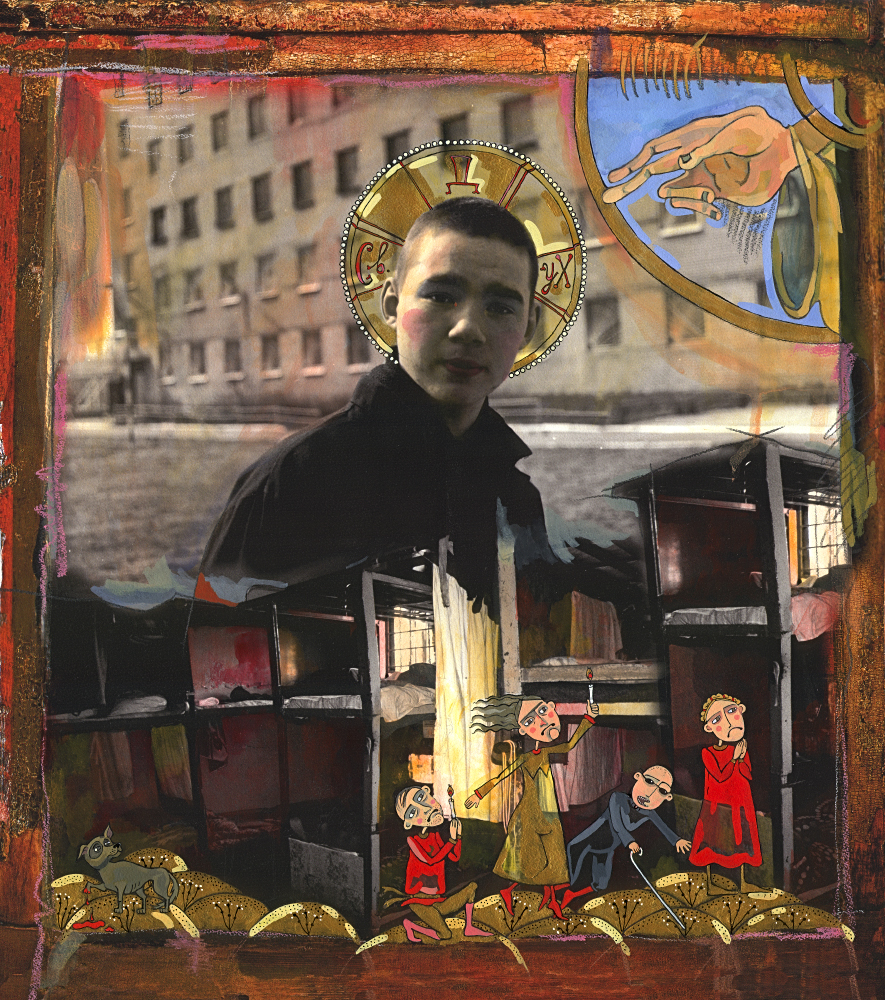 © YANA PAYUSOVA - Holy Trinity - Holy Ghost, 2004