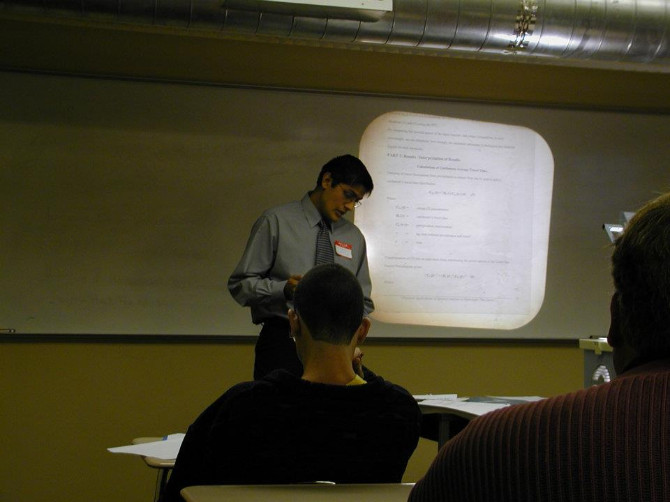 Presenting at the MAA Florida Section in October 2002