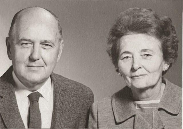 Dr. Roger and Imogene Robinson.