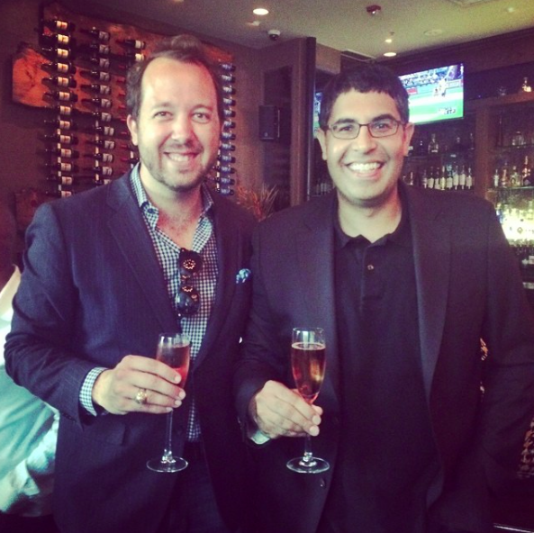 Andy Ellwood and Neil Kataria, Founders of Basket.