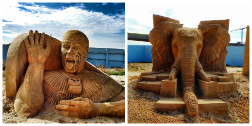 Sand Festival Collage