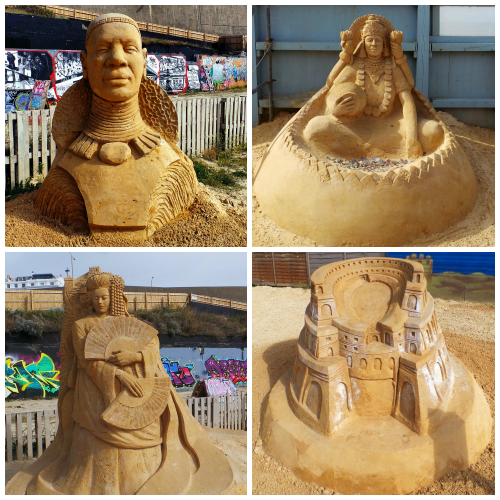 Sand Sculptor Collage