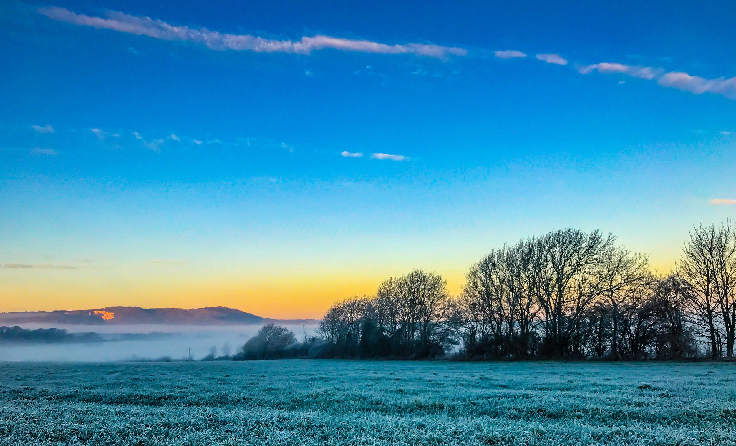 A Winter's Sunrise